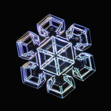 Snowflake, LM Photographic Print by Kenneth Libbrecht