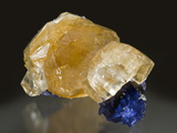 Calcite and Fluorite, Denton Mine Calcite Photographic Print by Mark Schneider