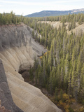 The Pinnacles are an Exposure of an Ash Flow That Formed During the Catastrophic Eruption Photographic Print by Marli Miller
