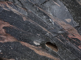 Close-Up of Obsidian or Volcanic Glass, Crater Lake National Park, Oregon, USA Photographic Print by Marli Miller