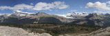 Panoramic View of the Canadian Rockies, Yoho and Banff National Parks and Alberta Photographic Print by Marli Miller