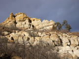 These Dawson Arkose Cliffs Were Deposited from Erosion of the Rocky Mountains Photographic Print by Marli Miller
