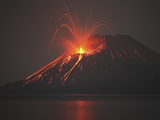 Nighttime Strombolian Photographic Print by Richard Roscoe