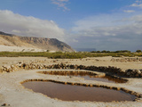 The Salt Pools of the Southern Coast of Socotra, Yemen Photographic Print by Fabio Pupin