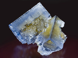 Fluorite, Minerva Mine, Cave-In-Rock District Fluorite Photographic Print by Mark Schneider
