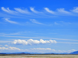 Two Rows of Kelvin-Helmholtz Waves (Above) and Cumulus Clouds (Below), Summer Lake Wildlife Area Photographic Print by Robert & Jean Pollock