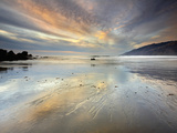 An Extremely Expansive Sandy Beach at the South End of Big Sur Photographic Print by Patrick Smith