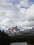 Castle Mountain of Limestone, Banff National Park, Alberta, Canada Photographic Print by Marli Miller