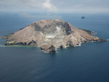 White Island Volcano Aerial View, New Zealand Photographic Print by Richard Roscoe