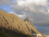 Glacial Horn and Arete, Glacier National Park, Montana, USA Photographic Print by Marli Miller
