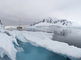 Ship in the Waters Off the Antarctica Photographic Print by Louise Murray