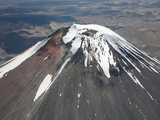 Ngauruhoe Cone of Tongariro Volcano, New Zealand Photographic Print by Richard Roscoe