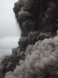 Eruption and Ash Cloud of Yasur Volcano, Vanuatu Photographic Print by Richard Roscoe