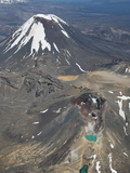 Red Crater, Ngauruhoe Cone, Tongariro Volcano, New Zealand Photographic Print by Richard Roscoe