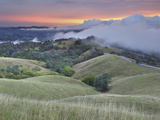 Storm Clouds over Walnut Creek and the Slopes of Mt. Diablo, Central California, USA Photographic Print by Patrick Smith