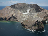 White Island Volcano, New Zealand Photographic Print by Richard Roscoe