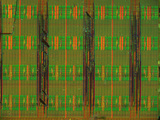 Micrograph of a Computer Microprocessor, LM X200 Photographic Print by Robert Markus