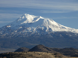 Mt Shasta, Dormant Stratovolcano in Northern California, Showing at Least Three of the Four Photographic Print by Marli Miller