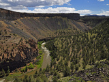 The Crooked River Below Prineville Reservoir Near Terrebonne, Oregon, USA Photographic Print by Robert & Jean Pollock