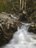 Pemigewasset River Eroding Granite Rocks in the Basin, Franconia Notch State Park Photographic Print by Robert Servranckx
