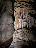 Detail of a Large Stalagmite, Carlsbad Caverns National Park, New Mexico, USA Photographic Print by Marli Miller