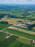 Wind Turbines Near Cadillac, Michigan, USA Photographic Print by Jeffrey Wickett