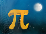 Boy Likeness with Pi Symbol Photographic Print by Carol & Mike Werner