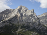 Overturned Anticline and Syncline in Paleozoic Limestone, Southern Alberta, Canada Photographic Print by Marli Miller