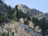 Erosion and Weathering of Granite, Rocky Mountains, Colorado, USA Impressão fotográfica por Marli Miller