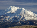Mt Shasta, Dormant Stratovolcano in Northern California, Showing at Least Three of the Four Impressão fotográfica por Marli Miller