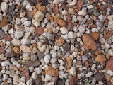 Pumice of Various Colors Due to from Differences in Iron-Oxide Content, Crater Lake National Park Photographic Print by Marli Miller
