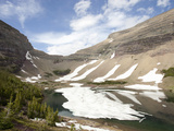 Glacial Tarn and Cirque, Ptarmigan Lake, Glacier National Park, Montana, USA Photographic Print by Marli Miller
