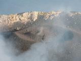 Crater in the Crater Terrace of Stromboli Volcano, Eolian Islands, Italy, 2006 Photographic Print by Richard Roscoe