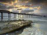The Scripps Pier in La Jolla, California, USA Photographic Print by Patrick Smith