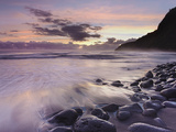 Waipio Beach at Dawn, Big Island, Hawaii, USA Photographic Print by Patrick Smith