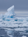 Melting Arctic Ocean Ice in Spring Photographic Print by Louise Murray