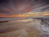 A Stream Winding its Way to the Gulf of Mexico, Grayton Beach, Florida, USA Photographic Print by Patrick Smith