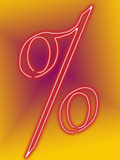 Percent Sign Photographic Print by Carol & Mike Werner