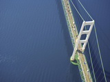 Mackinac Bridge, Michigan, USA Photographic Print by Jeffrey Wickett