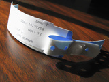 Hospital Identification Bracelet Photographic Print by Carol & Mike Werner