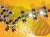 Illustration of a Mitochondrion and a Atp Molecule Photographie par Carol & Mike Werner