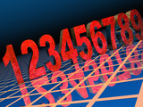 Numbers Photographic Print by Carol & Mike Werner