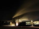 Svartsengi Geothermal Power Plant, Iceland Photographic Print by Skarphedinn Thrainsson