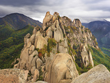 Ulsanbawi Peak, Seoraksan National Park, South Korea Photographic Print by Geoffrey Schmid