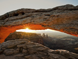 Sunrise at Mesa Arch, Canyonlands National Park, Utah, USA Photographic Print by Gustav Verderber