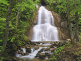 Waterfall, Green Mountains, Vermont, USA Photographic Print by Gustav Verderber