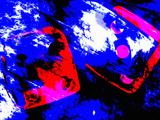 Abstract Dice Rolling Seven Reprodukcja zdjęcia autor Carol & Mike Werner