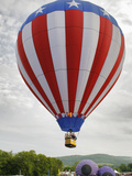 Hot Air Balloon Festival, Quechee, Vermont, USA Photographic Print by Gustav Verderber
