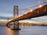 Bay Bridge, San Francisco, Califonia, USA Photographic Print by Patrick Smith