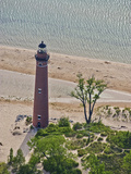 Lighthouse at Little Sable Point, Michigan, USA Photographic Print by Jeffrey Wickett
